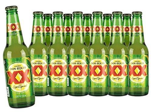 DOS EQUIS XX Lager, mexikanisches Bier, 12 Flaschen Sparpaket