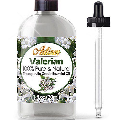 Artizen Valerian Essential Oil (100% Pure &Amp; Natural - Undiluted) Therapeutic Grade - Huge 1Oz Bottle - Perfect For Aromatherapy, Relaxation, Skin Therapy &Amp; More!