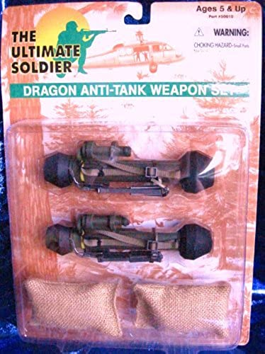 The Ultimate Soldier Dragon Anti-Tank Weapon Set by 21st Century Toys
