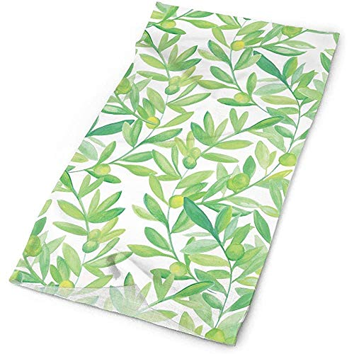 Outdoor Sports Bandana Headbands The Olive Leaves Multifunctional for Outdoor and Sport Activities