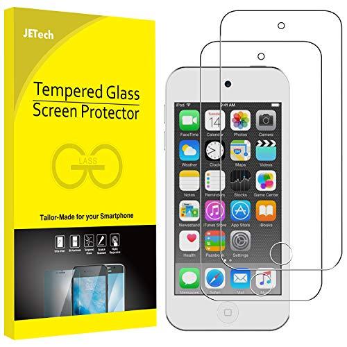 JETech Schutzfolie Kompatibel mit iPod Touch (7, 6. und 5. Generation), Gehärtetem Glas Displayschutzfolie, 2 Stück