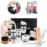 Kit ganador del año cuidado de la barba 2020  Cosméticos de excelente calidad hechos en Alemania  Set de regalo para hombres  Kit de afeitado de BarFex