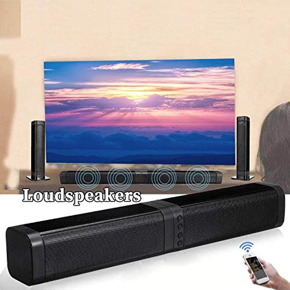 現代のマーチャンダイジングブラシBluetoothスピーカー 3Dステレオ効果テレビのホームワイヤレスサウンドバー可動とのスプライシング
