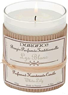 Durance de Provence Hand Crafted Scented Candle - White Lily