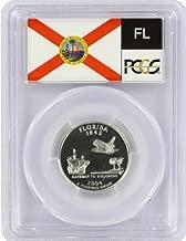 2004 Florida State S Silver Proof Quarter PR-69 PCGS
