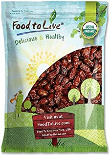 Organic Medjool Dates, 15 Pounds - Non-GMO, Raw, Vegan