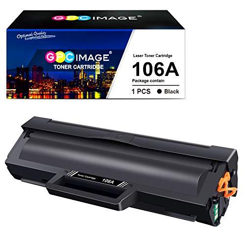 GPC Image 106A Toner Kompatibel für HP 106A W1106A für HP Laser 107a 107r 107w MFP 135a 135r 135w 135wg MFP 137fnw 137fwg Druckerpatronen (1 Schwarz,Mit Chip)