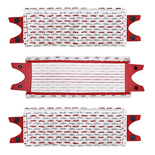BLUTENET 3 piezas de microfibra de repuesto para fregona Vileda UltraMax Power XL