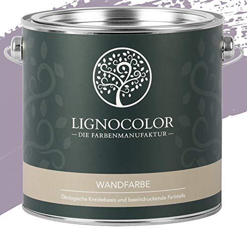 Lignocolor Wandfarbe Innenfarbe Deckenfarbe Kreidefarbe edelmatt 2,5 L (Elegance)