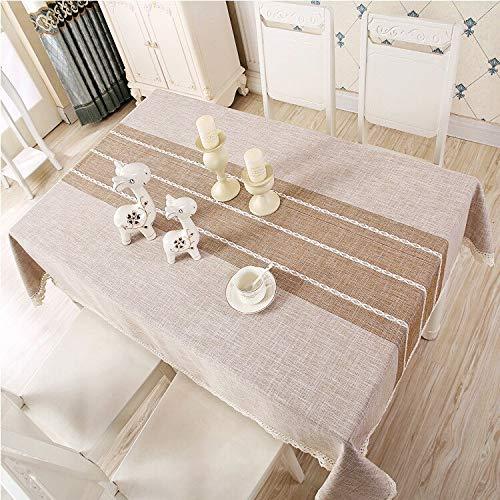 XXDD Mantel Moderno Simple Borla Mesa de café Mantel Mantel Mantel Rectangular Mantel Lavable A2 150x210cm