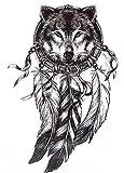 Wolf hb577 - Tatuaje de atrapasueños