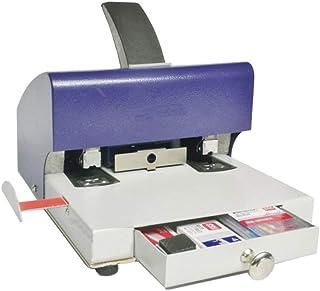 Office Stapler Dual Heads Document Binding Machine Manual Stapling Machine 2-50 Pages