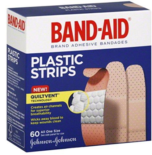 Band-aid Band-aid Bandes de plastique Taille unique 60 chaque (lot de 11)