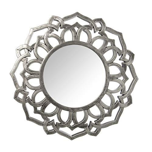 Espejos Decorativos De Pared Plateados espejos decorativos  Marca DRW