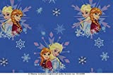 PWSE Baumwoll Jersey Stoff Frozen Anna & ELSA Digital Druck