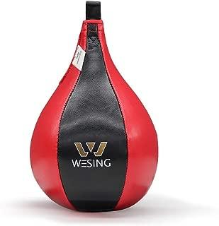 Wesing Boxing Speed Bag MMA Speed Ball Muay Thai Striking Bag for Fitness Training Punching Kicking Fighting