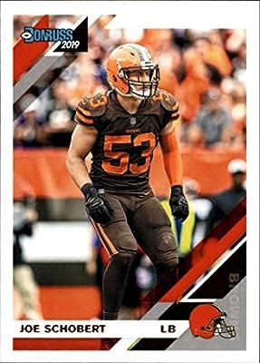 2019 Donruss Football #71 Joe Schobert Cleveland Browns Official NFL Trading Card From Panini America