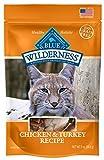 Blue Buffalo Wilderness Grain Free Soft-Moist Cat Treats, Chicken & Turkey 56g bag