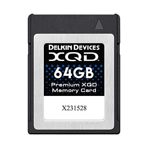Delkin 64GB Premium XQD Memory Card