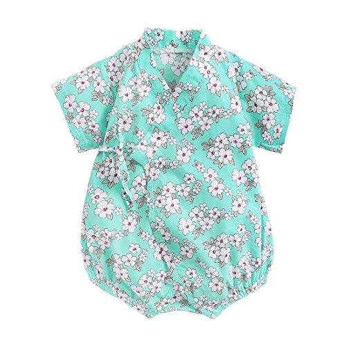 Baby Kimono - Pijama de algodón japonés Sakura para bebés de 3 a 24 meses