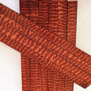 5x Snakewood Blank Lumber Board Craftwood Luthier Pen Knife Handle