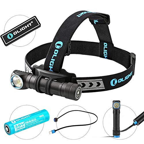 OLIGHT Bundle H2R Cree LED Up to 2300 lumens Rechargeable...