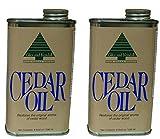 Giles and Kendall Cedar Oil Restores the Original Aroma of Cedar Wood, 8 Fluid oz / 236 ml - 2 Pack