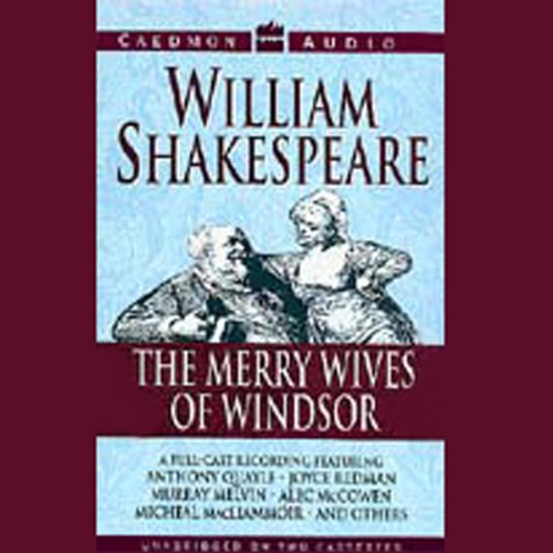 The Merry Wives of Windsor audiobook cover art