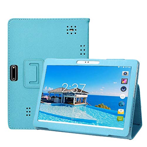Transwon Case for NETPAL 10 Inch Tablet, MEIZE K105 Tablet, ZONKO 10.1 Inch Tablet, FLYINGTECH 10 Inch Tablet, Lectrus 10.1, HOOZO 10, penen 10 Inch Android Tablet, YELLYOUTH 10 Inch YY12 Case - Blue