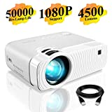 Elephas Mini Proiettore Portatile 4500 Lumen, Videoproiettore Full HD 1080P, Videoproiettore LED con...