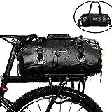 Asvert Bolsa de Maletero de Bicicleta Impermeable,Bolsa Trasera para Bicicleta Multifuncional Bolsa de Asiento Trasero como Portaequipajes de Cercanías