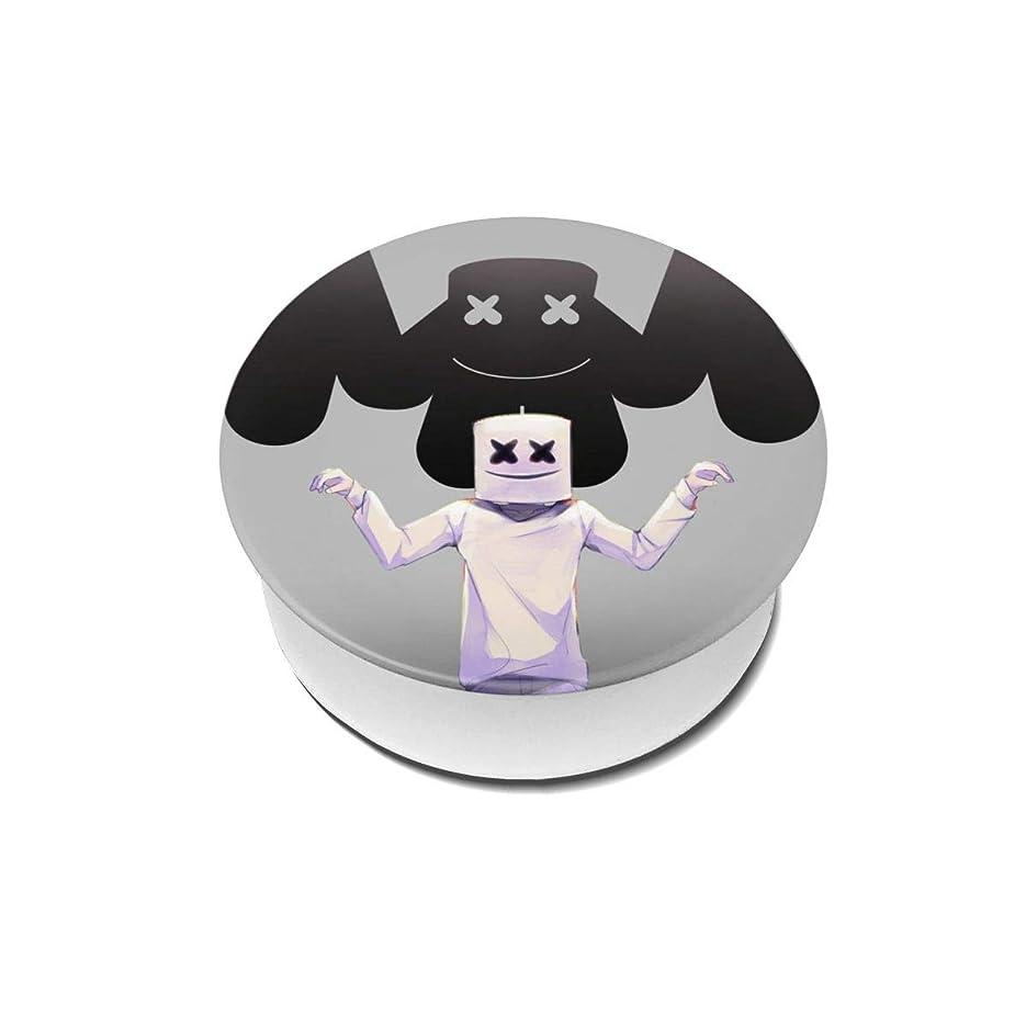 賛辞工業用してはいけないYinian 4個入リ マシュメロ Marshmello スマホリング/スマホスタンド/スマホグリップ/スマホアクセサリー バンカーリング スマホ リング おしゃれ ホールドリング 薄型 スタンド機能 ホルダー 落下防止 軽い 各種他対応/iPhone/Android(2pcs入リ)