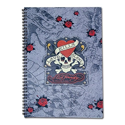 Trend Import 10312900 - Trend Import - Ed Hardy Spiralbuch Din A4