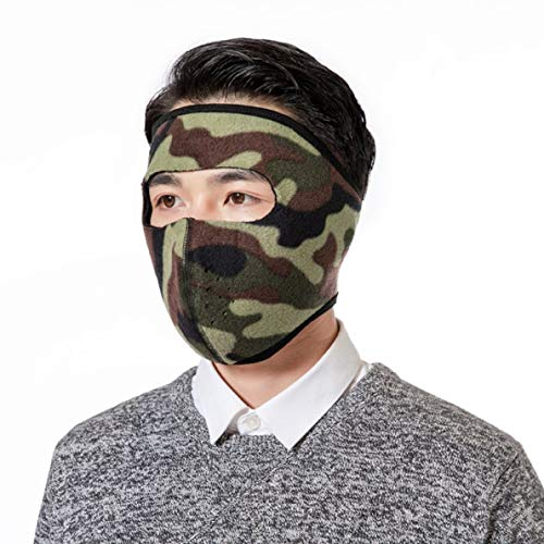 klif fabelachtige fleece hals warm volledig gezicht masker winter sport accessoires winddichte fiets fietsen snowboard outdoor maskers (None CA)