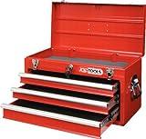 KS Tools 891.0003 Werkzeugtruhe mit 3 Schubladen-rot