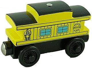 Thomas & Friends Yellow Illuminated Caboose Wooden Railway Tank Train Engine Loose
