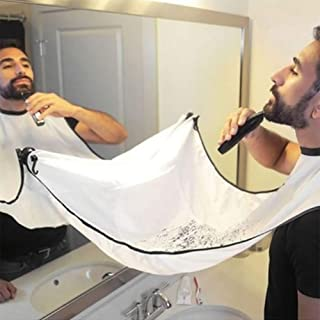 Beard Bib Beard Catcher Apron for Trimming Your Beard To Keep Yourself And Your Sink Clean - Perfect Gift for Men