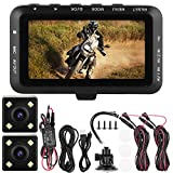 Hlyjoon Moto DVR Dash Cam 1080P Motociclo Registratore di Guida Traffic Loop Video 3,0 Pol...