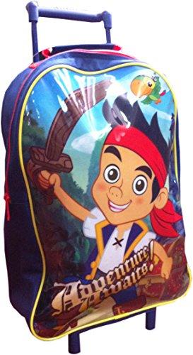 Disney : Jake and The Neverland Pirates Wheeled Sac