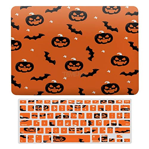 Plastic Hard Shell Case & Keyboard Cover Compatible with MacBook Air 13 inch/MacBook Air Pro 13' (Models: A1369 & A1466/ A2159/A1989/A1706), All Saints' Day