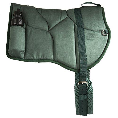 Best Friend Western Style Bareback Saddle Pad, Hunter Green