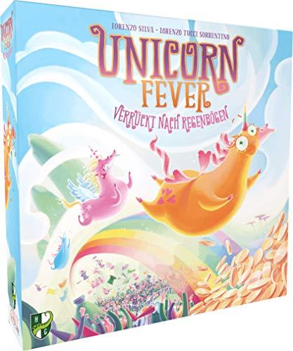Heidelberger Spieleverlag HR019 Spieleverlag Unicorn Fever Brettspiel