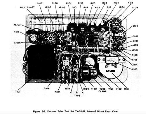 Electron Tube Test Set Operator, Installation, Maintenance, Repair Parts & Data Manuals For TV-2 TV-3 TV-8 TV-10 TV-13 (English Edition)