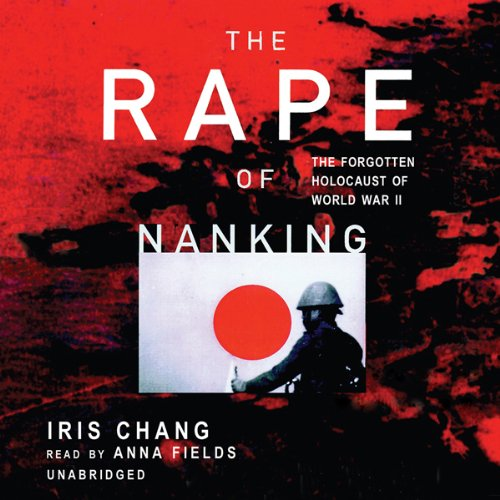 The Rape of Nanking audiobook cover art