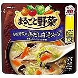明治 まるごと野菜 6種類野菜の鶏だし白湯スープ 200g×6個