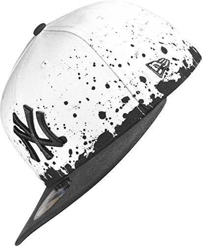 New Era New York Yankees Cap Panel Splatter White/Black - 7 1/2-60cm