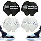 Shoe Crease Protectors Toe Box Decreaser Prevent Shoes Crease Indentation Anti-Wrinkle Shoes Creases Protector Small US 5-8(4 Pairs)