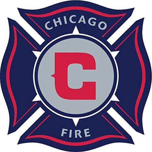 Chicago Fire USA Soccer Football Hochwertigen Auto-Autoaufkleber 12 x 12 cm