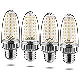Yiizon LED Lampadina Mais 20W, 3000K Bianco Caldo, 2000LM, E27 Vite Edison Grande, 150W Lampadine Incandescenza Equivalenti, Non Dimmerabile, 4 Pezzi