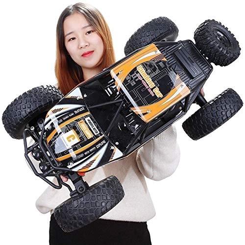 Control remoto de coches, 1:10 gigante de alta velocidad eléctrica recargable RC coche todoterreno for Monster RTR niños rastreadores Chariot Modelo, 2.4G Wireless Radio Controlados Vehículos todo ter